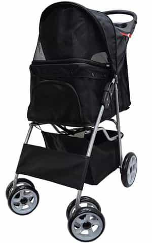 VIVO Four Wheel Pet Stroller