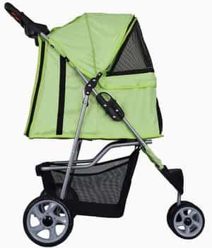 Vivo Three-Wheel Pet Stroller